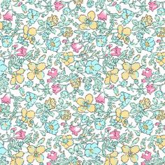 Liberty Tana Lawn Fabric Meadow N - Alice Caroline - Liberty fabric, patterns, kits and more - Liberty of London fabric online Liberty Of London Fabric, Liberty Fabric, Drawing For Beginners, Drawing Tips, Pastel Roses, Lawn Fabric, Plant Drawing, Flower Patterns, Fabric Patterns