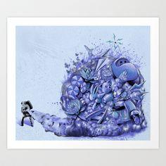 Fun Thrower Art Print by Kyle Cobban - $22.88