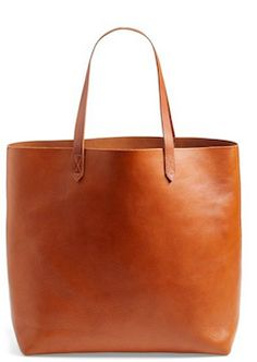 Madewell classic leather tote