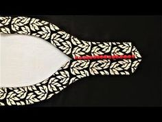 Beautiful Patch Work Neck Design Cutting and Stitching for Kameez/Blouse/Suit Simple and sober. - YouTube