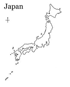 Japan Map to label (with Tokyo, Kyoto, Mt. Fuji) - Geography Cycle 1 Week 10
