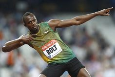 Usain Bolt stands tall ahead of track and field world champs - Sports Illustrated 8/6/13 (click picture for full story)