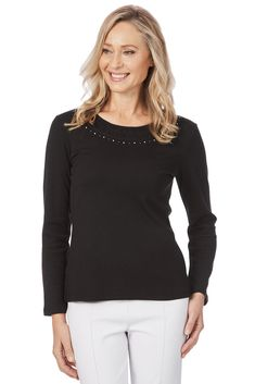 4502aca6bc NEW Women's Noni B Marissa Tee #fashion #clothing #shoes #accessories  #womensclothing #tops (ebay link)