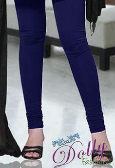 Soft 4-way Lycra Stretchable Legging in Navy Blue