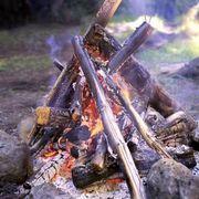 how to make a fake campfire prop