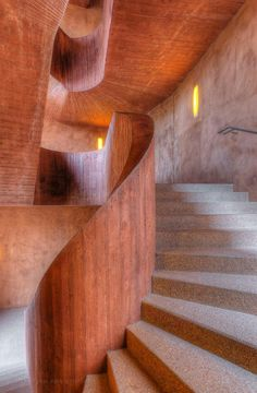 Stairs Kuppermuhle Duisburg (D) by Herzog de Meuron