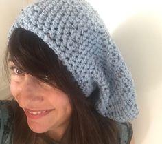 how to crochet a slouchy beanie