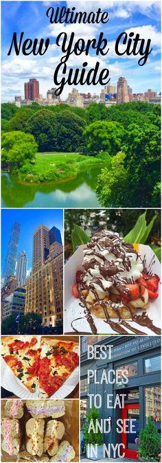 The Ultimate New York City Guide. Best Places to Eat and See while visiting NYC. Tips and tricks from the locals to navigate the city. Highest rated restaurants and lists of things to do while visiting New York City.