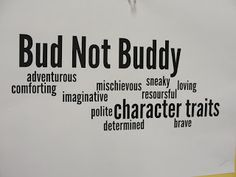 Printables Bud Not Buddy Worksheets activities student and the ojays on pinterest bud not buddy character traits love it