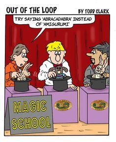 Abracadabra, amigurumi – same thing, right