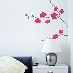 Orchid Wall Decal  Free Shipping! Tattoo Decor