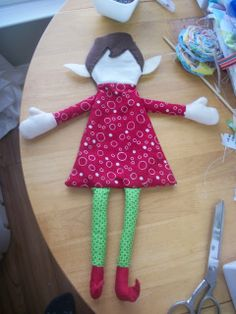 DIY Elf on the Shelf... or just cute Christmas craft if you already have an Elf