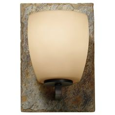 Murray Feiss VS19201-ORB/RSL Quarry 9-Inch  Light Bath Vanity, Oil Rubbed Bronze and Rusted Slate Murray Feiss http://www.amazon.com/dp/B006ZAQVMU/ref=cm_sw_r_pi_dp_PFtUwb01M3EEE
