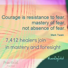 Give our focus on the vision and our guts. The energy of Courage.   Let us give our attention to the relationship to this energy of courage together.  #intuition #clarity #EnergyManagement #Emotion #Courage
