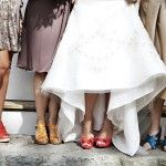 Colorful Shoe Styling by Sweet Deets Events - Photo by Adeline & Grace Photography