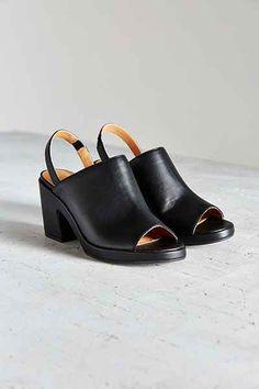 6b3cf526e8c Florence Vegan Leather Slingback Heel