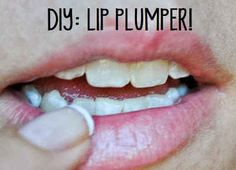 Instead of buying an expensive lip plumper, you can make your own with cinnamon oil.