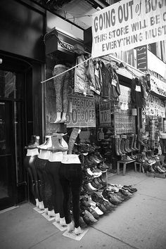 New York Street Photography. Going out of business.