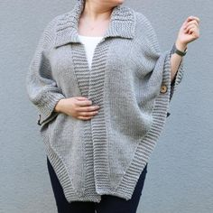 Sueter Poncho Sweater Plus Dimension Poncho Maternity Clothes Poncho Pullover, Oversized Knit Cardigan, Poncho Sweater, Thick Sweaters, Plus Size Sweaters, Plus Size Winter Outfits, Plus Size Outfits, Hand Knit Scarf, Maternity Outfits