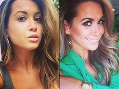 Ungeschminkt! Spielerfrauen ohne Make-up Mandy Capristo Freundin von Mesut Özil (Deutschland)