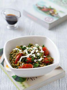 Mercimekli salata Tarifi - Diyet Yemekleri Yemekleri - Yemek Tarifleri