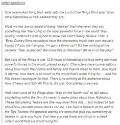 This (This isn't humor but I want everyone to see this because this right here is why I love LOTR)