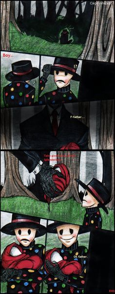 the slender family comics - Google Search