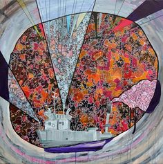 'PINTA' Acrylic on canvas. 130 x 130 cm