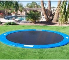 Yes this seems difficult but it would be a great weekend project and is much safer than a regular trampoline.   O1. Buy a trampoline. It can be any size or
