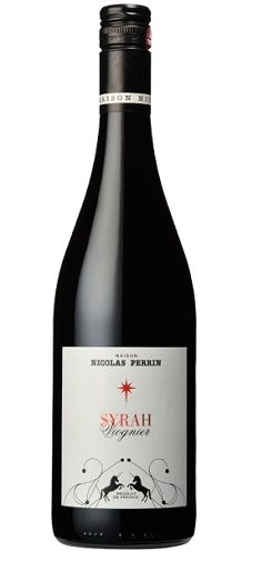 Maison Nicolas Perrin Syrah Viognier 2011. When Syrah is blended with Viognier, you obtain a wine with more aromatic elegance and finesse. On the granite terroir of the Northern Rhône Valley, this blend gives freshness and body to the wine. The rather dry and hot 2011 vintage was characterised by a full-bodied wine with great maturity.http://www.maison-nicolas-perrin.com/en/