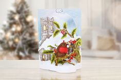 Christmas Flectere collection by Tattered Lace. From the latin 'to bend' - Flectere adds dimension to cards and scenes.