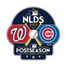 ada393dad75 Chicago Cubs vs Washington Nationals 2017 NLDS Lapel Pin  chicagocubs  mlb   flythew
