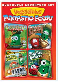 Veggitales: Funtastic Four Big Idea