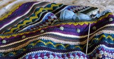 I want to start something new.  I'm loving the Mixed Stitch Stripey Blanket, don't get me wrong, but I'm making such slow progress that ...