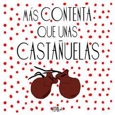 ¡Más contenta que unas castañuelas! Porque en 5 escasos meses vida gustamos a 600 personas en instagram y a más de 700 en Facebook!! Y eso es mu grande! Ahora mismo me voy de sarao!  www.pipol-art.com https://www.facebook.com/pipolartdecoraturutina http://instagram.com/pipolart  #pipolart #ilustracion #print #alegría #instagram #facebook #alegria #celebracion #sarao #flamenca #diseñografico #decoracion #decoraturutina