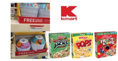 Kmart: Free Kellogg's Cereal Collector Bowl with purchase!
