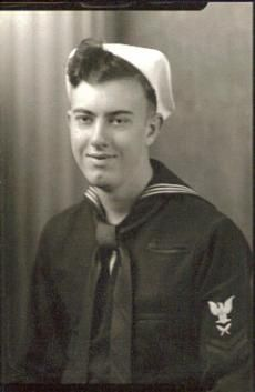 My mother's oldest brother, Herb. Picture taken during World War II.