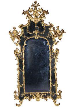 MIROIR À PARCLOSES  Toscane, troisième quart du XVIIIe siècle