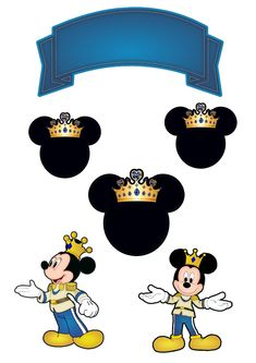 Bolo Mickey, Mickey Mouse, Mickey Party, Cake Toppers, Safari, Cake Decorating, Disney Characters, Birthday, Artwork