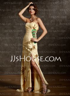 Prom Dresses - $149.99 - A-Line/Princess Sweetheart Court Train Chiffon Prom Dresses With Ruffle Beading (018020941) http://jjshouse.com/A-line-Princess-Sweetheart-Court-Train-Chiffon-Prom-Dresses-With-Ruffle-Beading-018020941-g20941