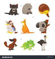 Resultado de imagen de australian animals map of australia