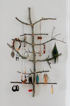 Happiness crafty : DIY Jewellery Holders