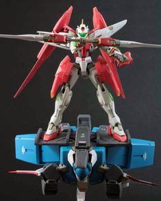 1/144 GN Knight System Custom Build  by :ミッキー   How's that build? Great yes?