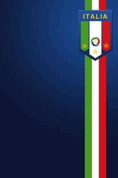 Italy Football Crest #iPhone 4s #wallpaper