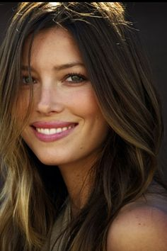 Jessica Biel - (there are some awesome genes at work here!)