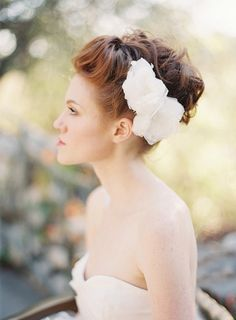 Bridal Hair piece Fascinator Headpiece Floral Lace  by sibodesigns, $145.00