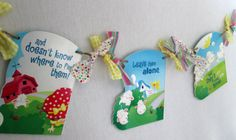 Easter Banner Back to School Teacher Gift Party by PartyFetti