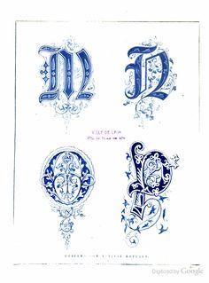 Ornamental initials