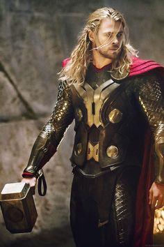 Thor Odinson // God of Thunder // Son of Odin // Marvel // The Avengers Marvel Comics, Marvel Fan, Marvel Heroes, The Avengers, Thor Wallpaper, Chris Hemsworth Thor, The Mighty Thor, Batman Begins, Loki Thor
