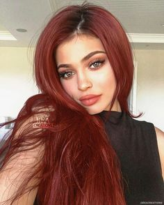 Take me to bed Red hahaha Dying Your Hair, Brown Hair Colors, Red Hair Color, Auburn, Hair Inspo, Hair Inspiration, Great Hair, Ombre Hair, Dark Red Hair